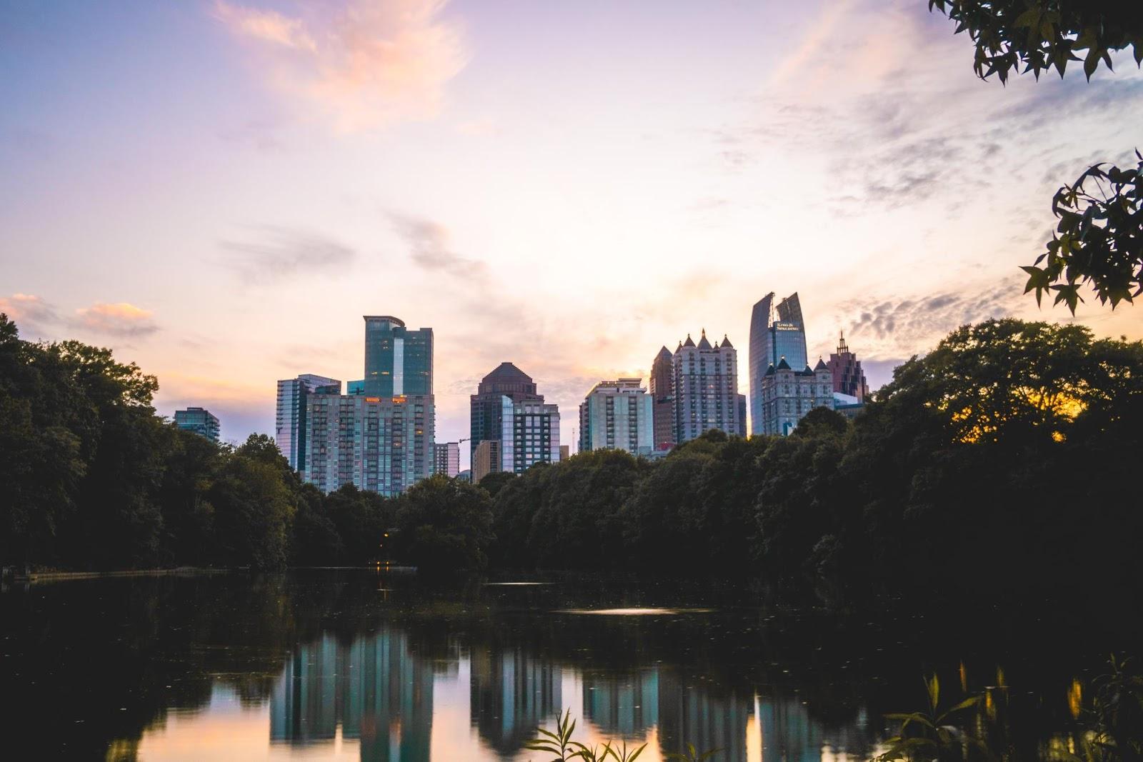 Skyline of Atlanta Georgia