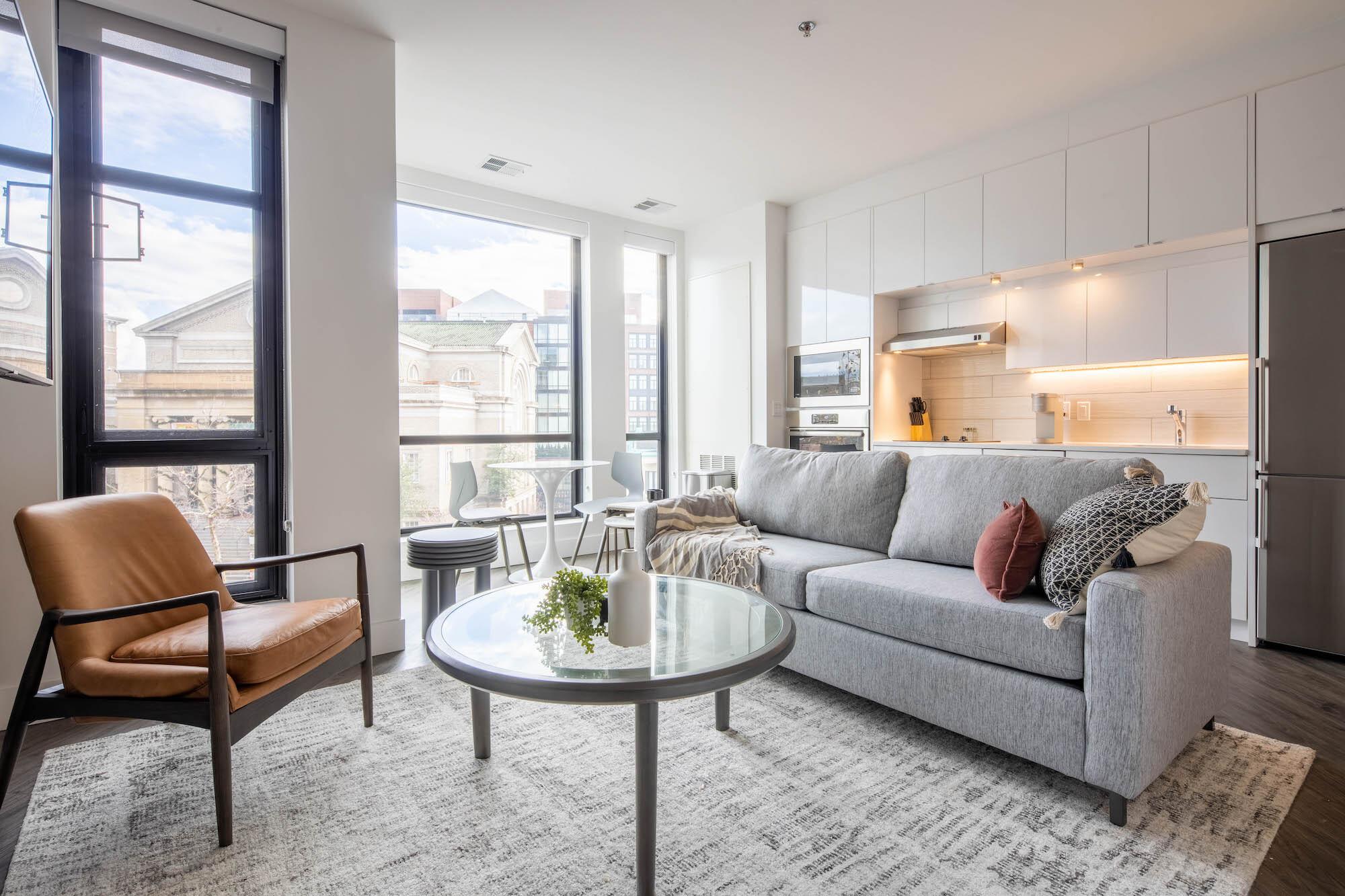 Landing apartment in Washington, D.C.