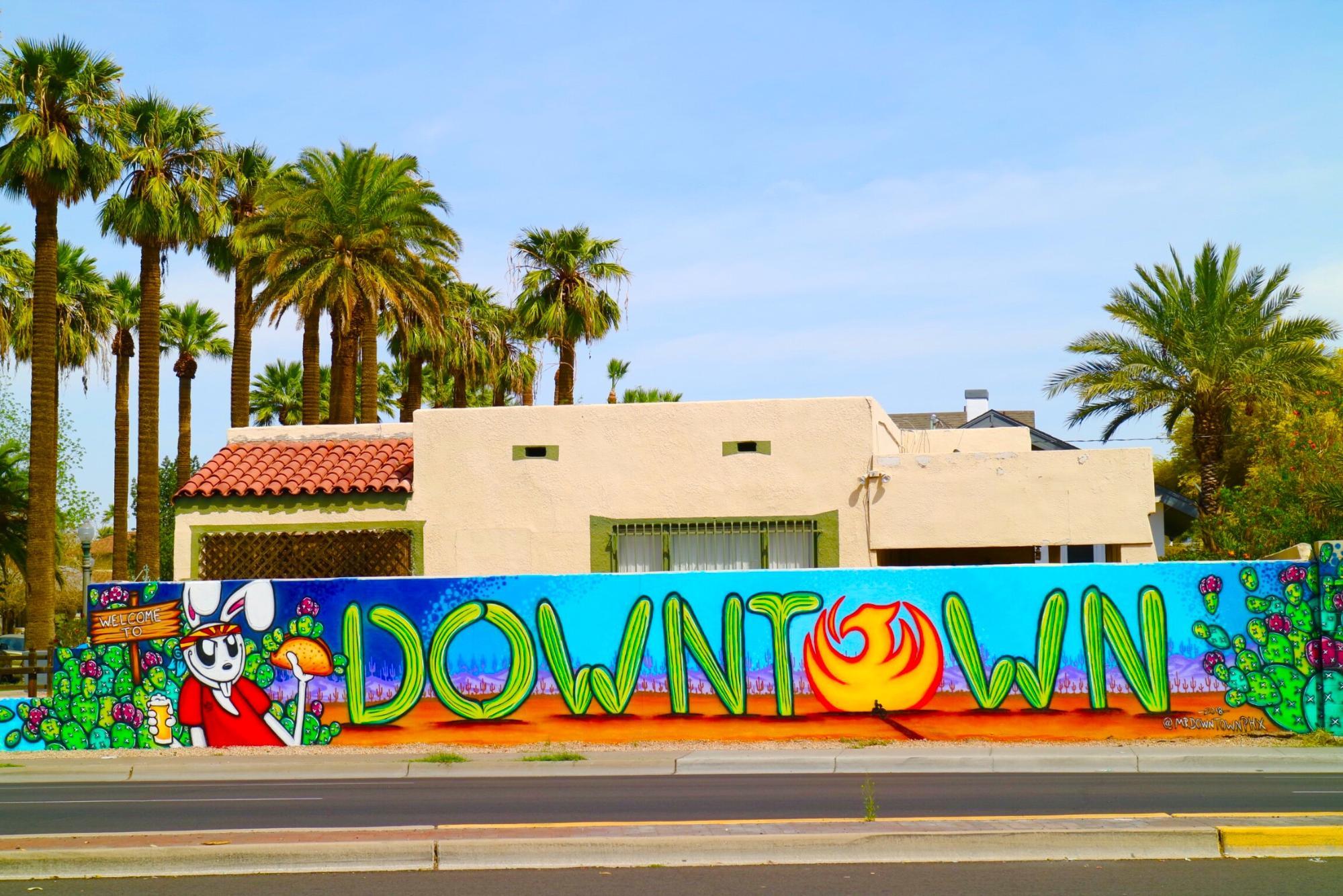 View of Downtown Phoenix, Arizona