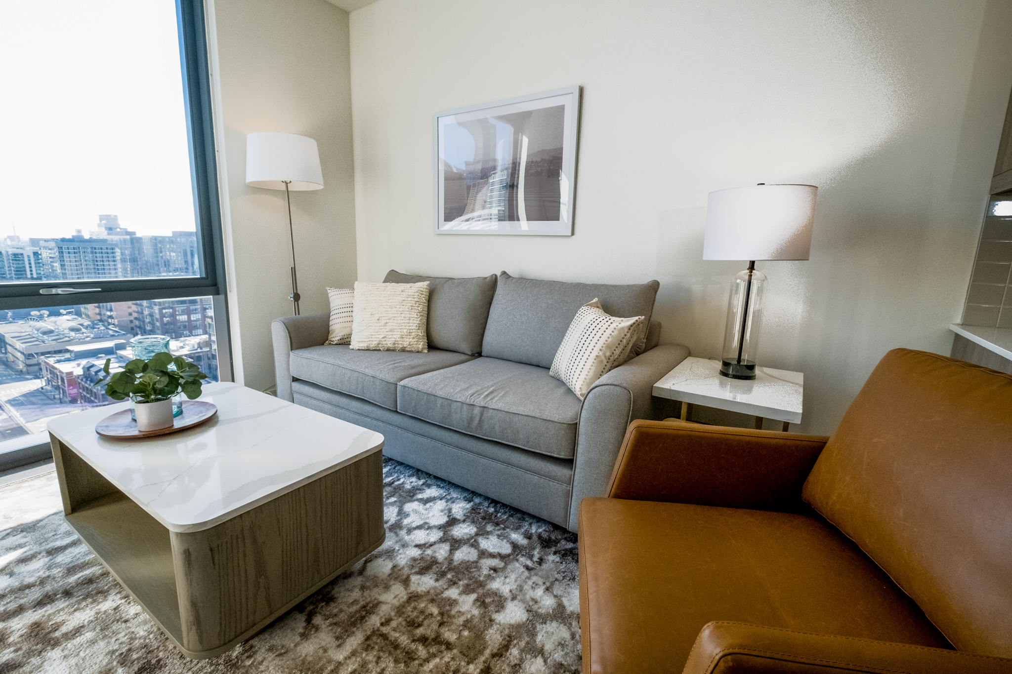 A Landing apartment in Chicago