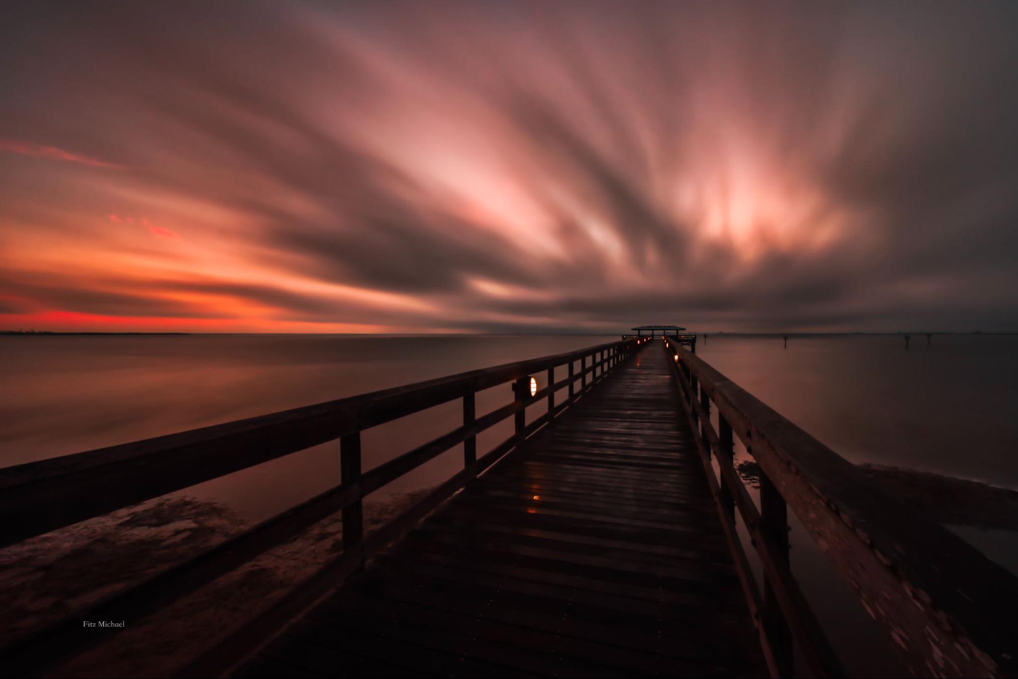 Sunset in Tampa, Florida