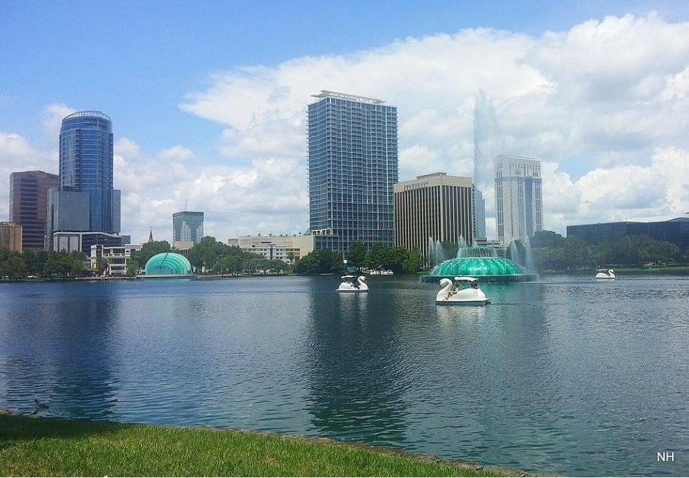 City view of Orlando, Florida.