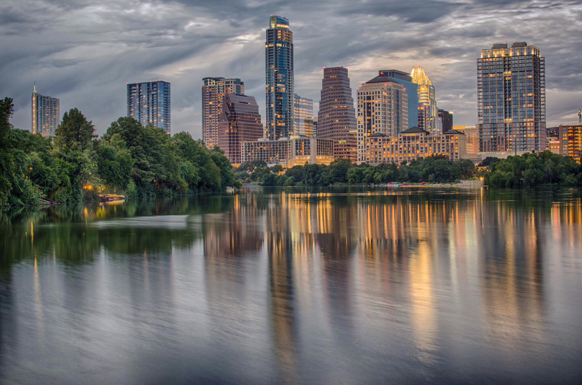 Downtown Austin skyline view