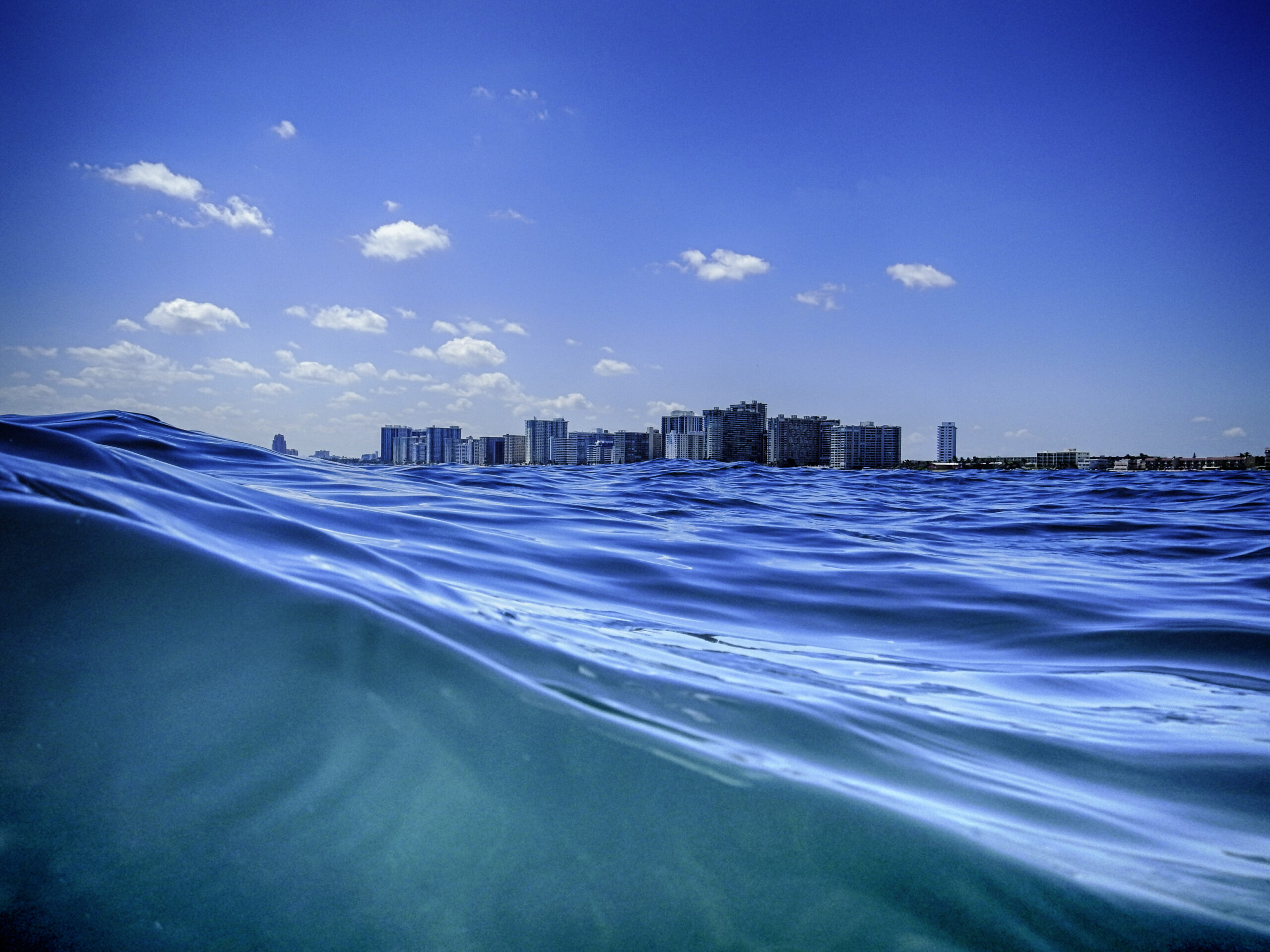 Sea view of Fort Lauderdale