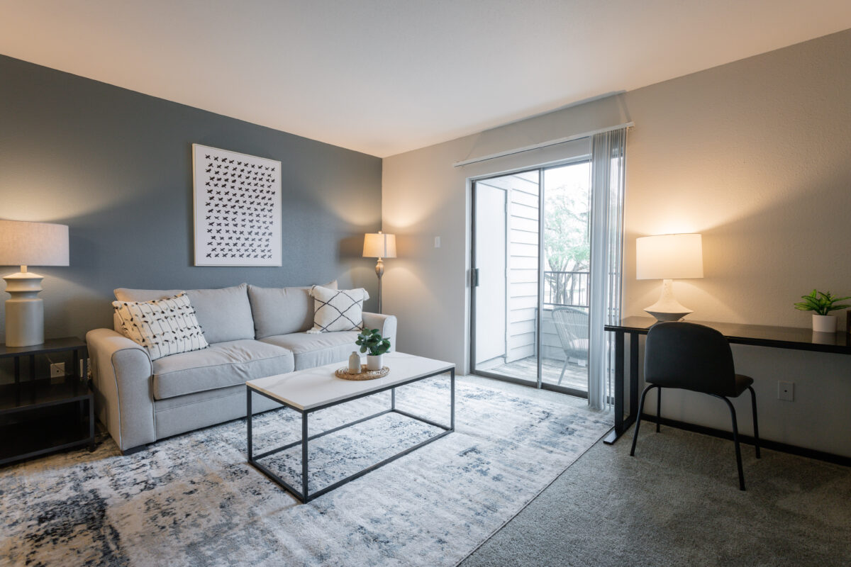 A Landing apartment in Houston, Texas.