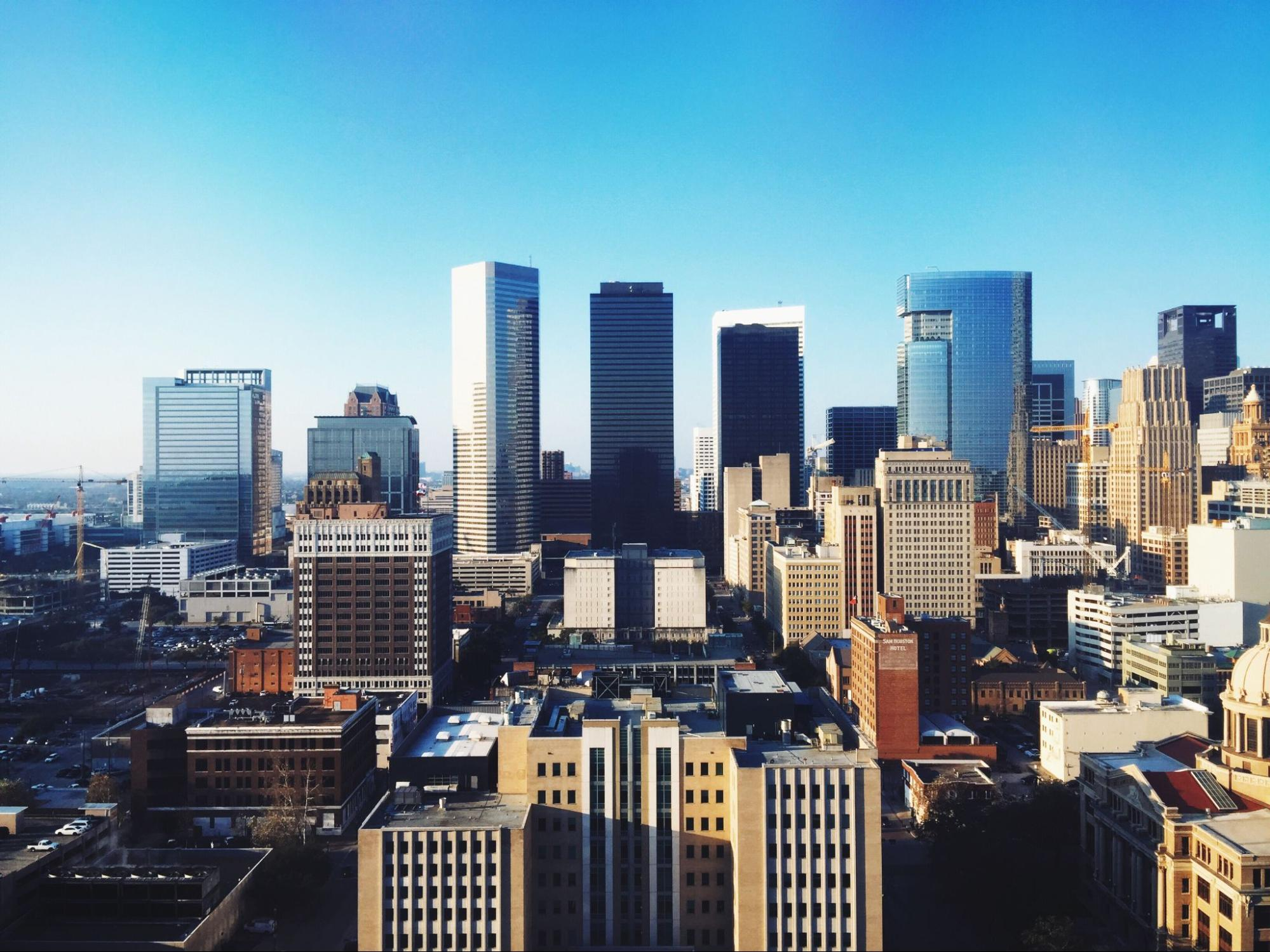 Skyline view of Houston, Texas