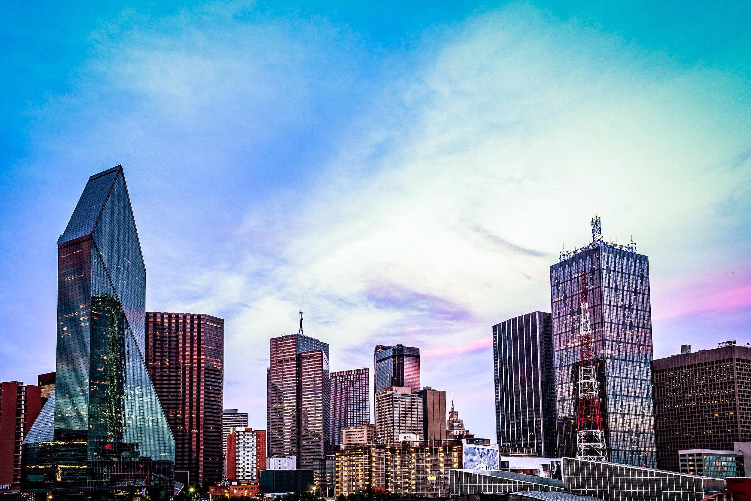 Skyline in Dallas, Texas