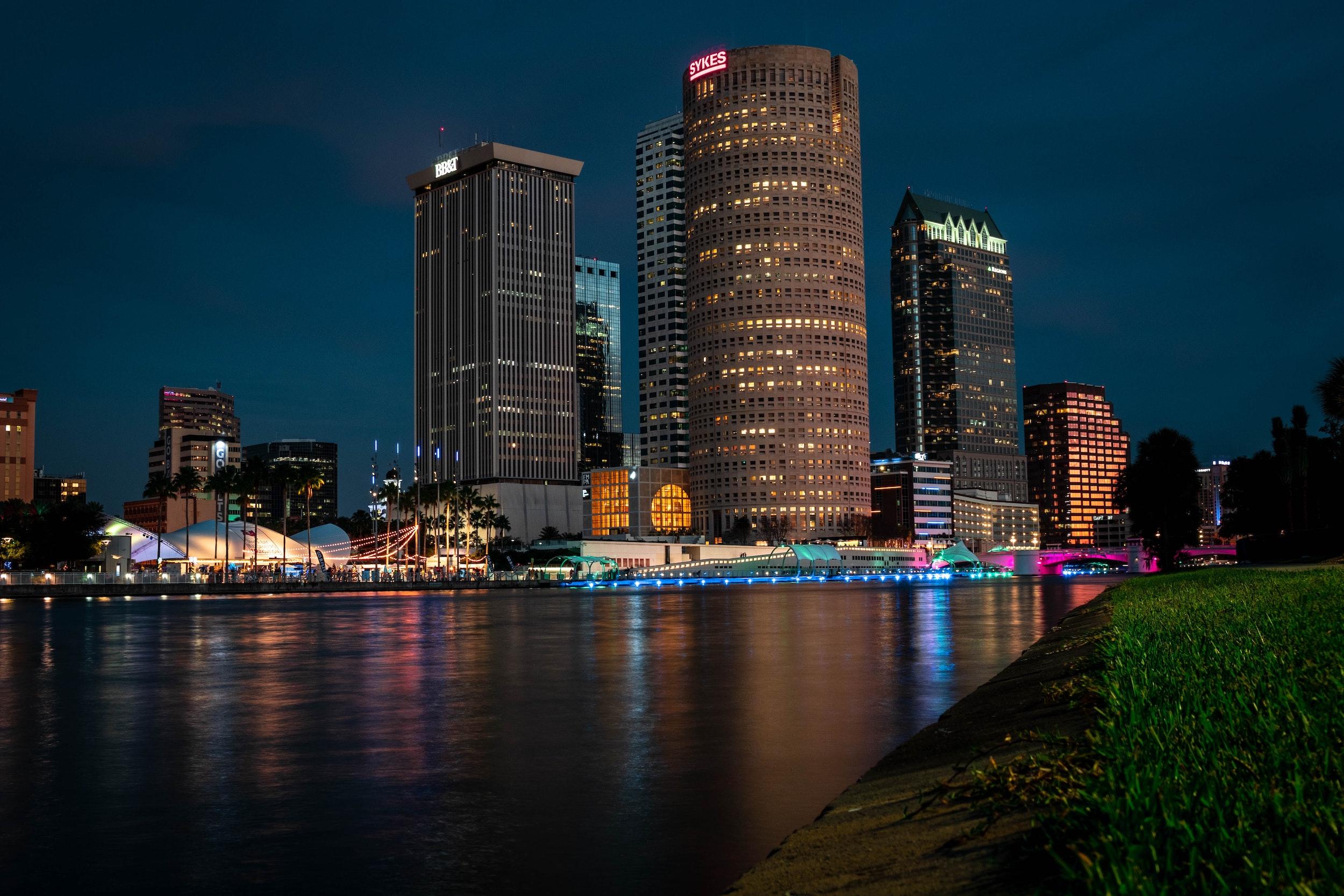Skyline of Tampa