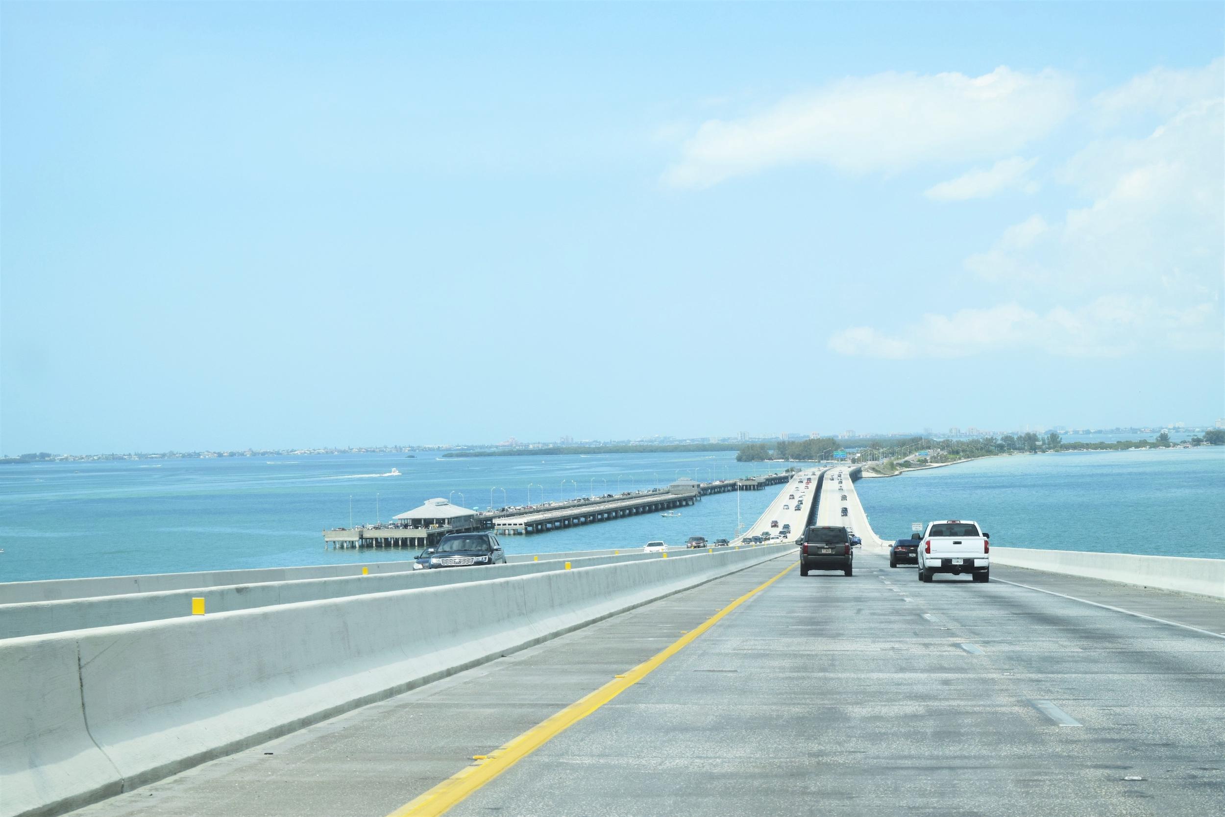 Bridge into St. Petersburg