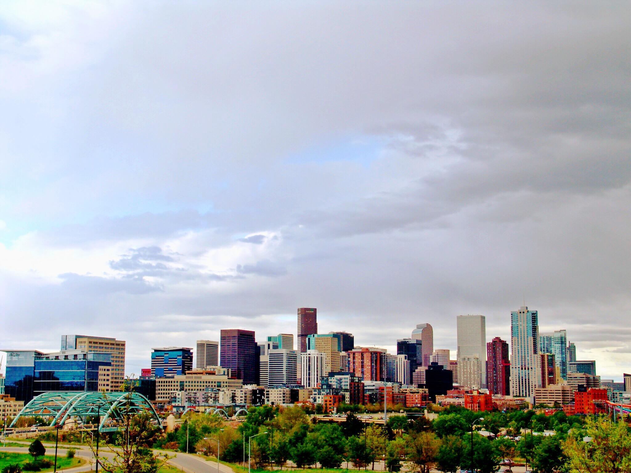 Skyline view of Denver, Colorado