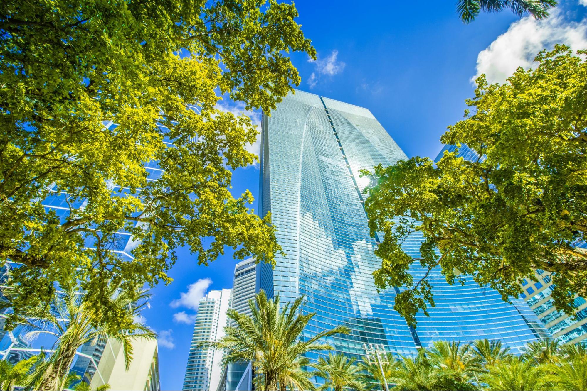 Downtown Miami skyscraper