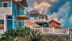 Coastal homes along Jacksonville Beach.