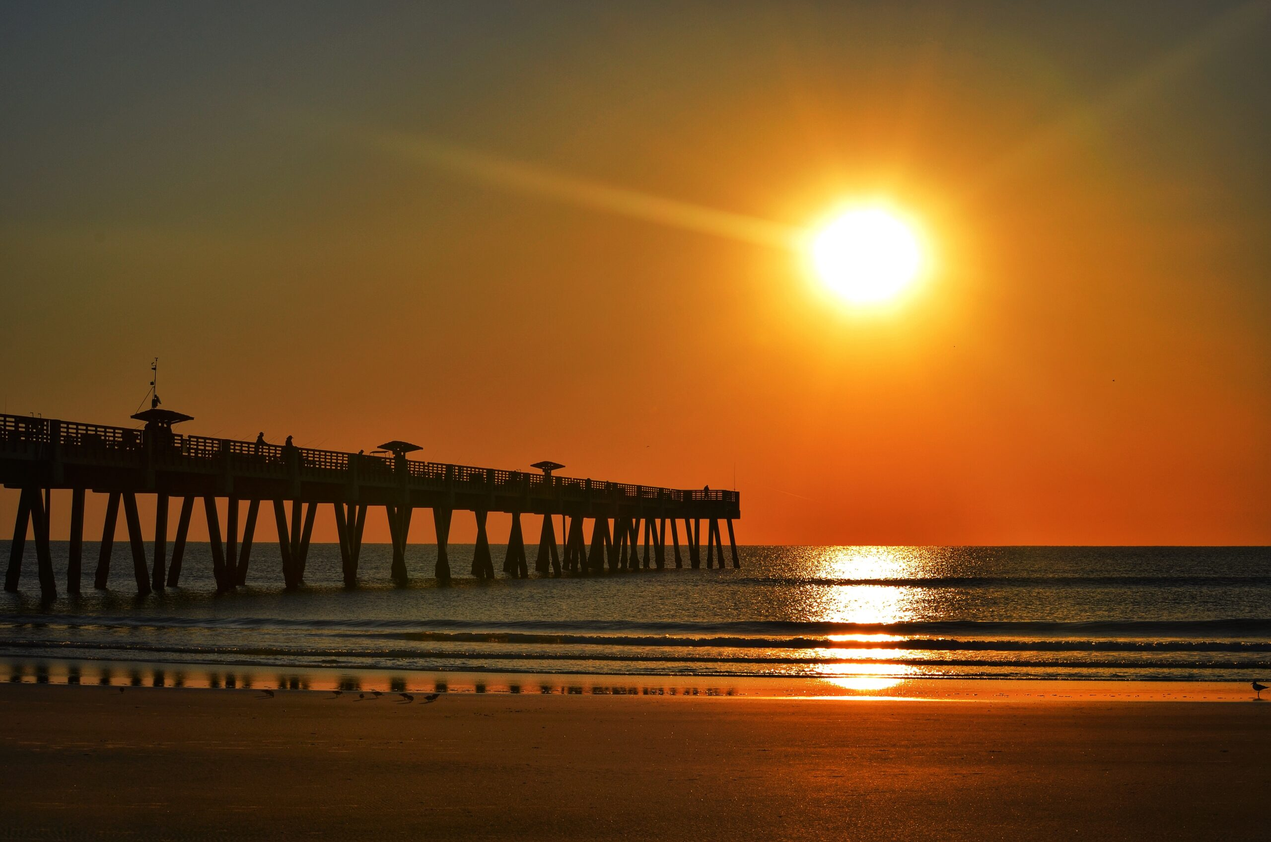 Sunset in Jacksonville, FL