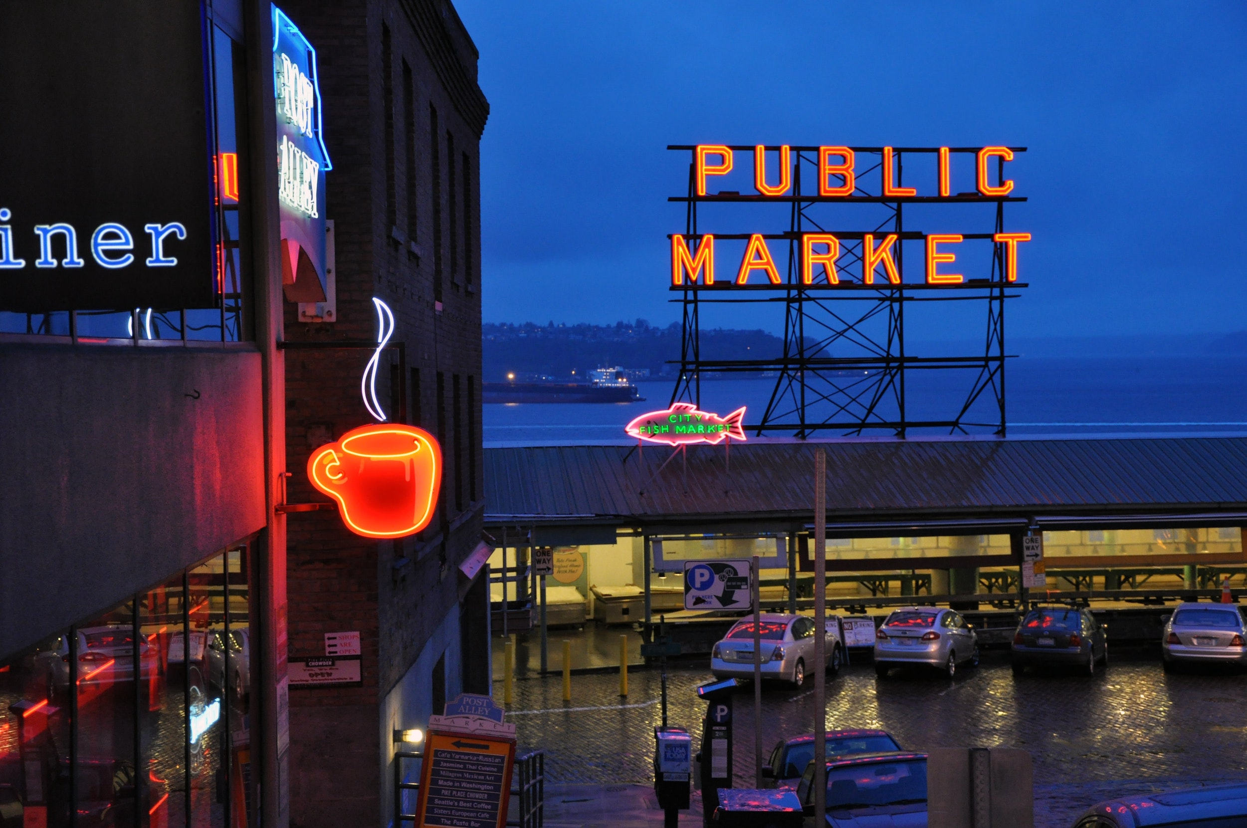 Pike Place in Seattle
