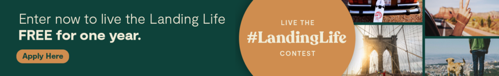 Live free with Landing with #LandingLife Contest
